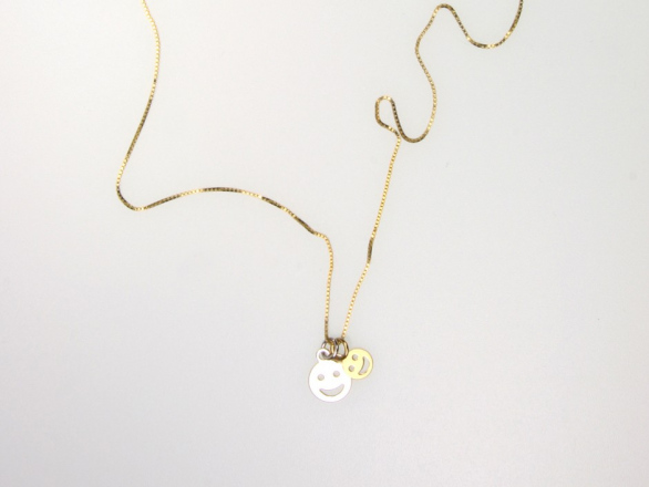 DOUBLE SMILE NECKLACE
