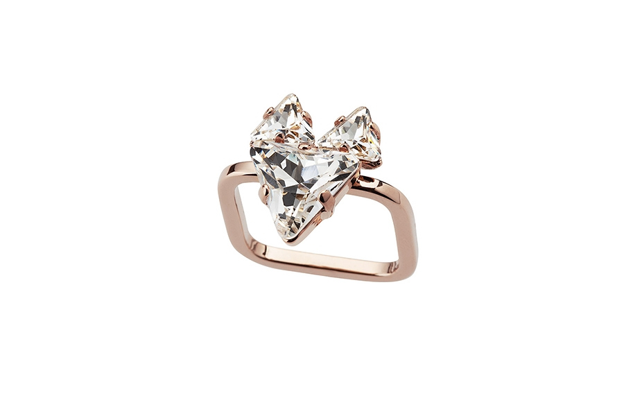 THE FOX RING rose gold