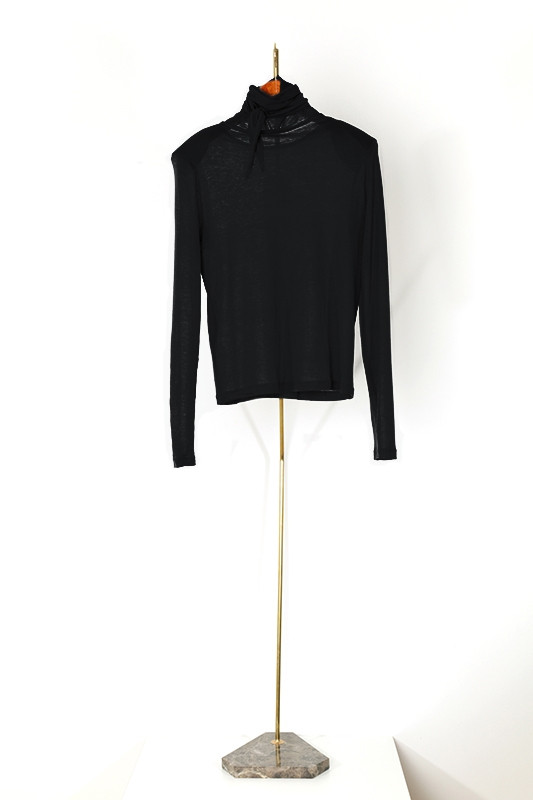 Top RADZIWILL, gloomy black-S