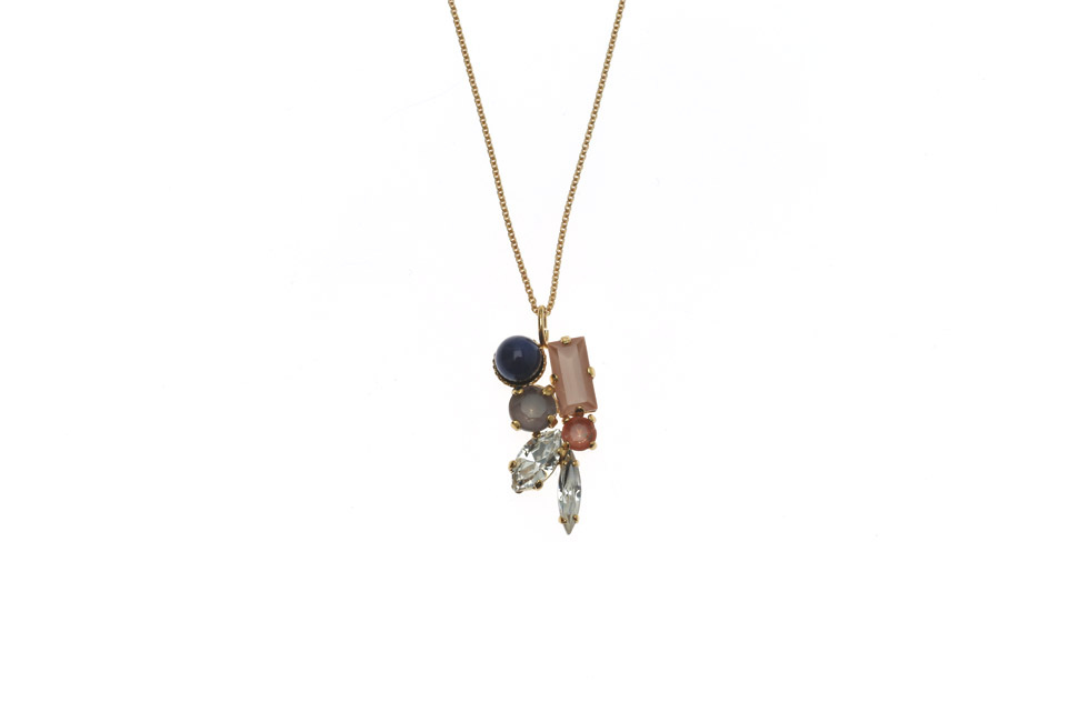 Fine Necklace With 50s Setting