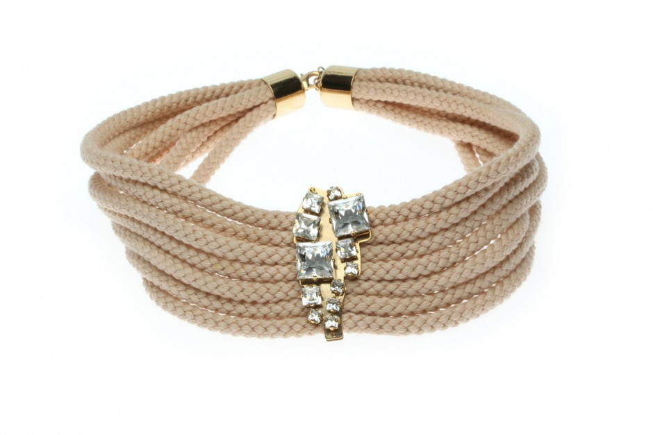 CORD collier CRySTAL plate