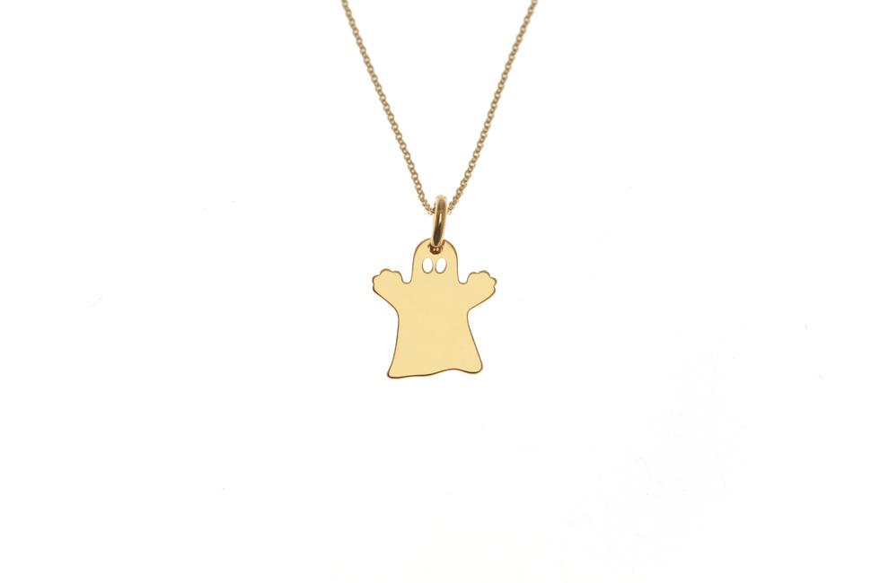 Necklace with Ghost