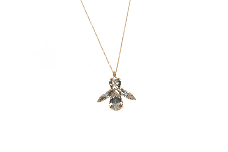 Superfine necklace with bee