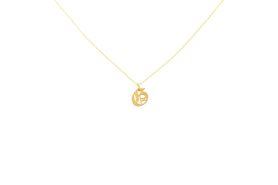 Alphabet NECKLACE Letter G