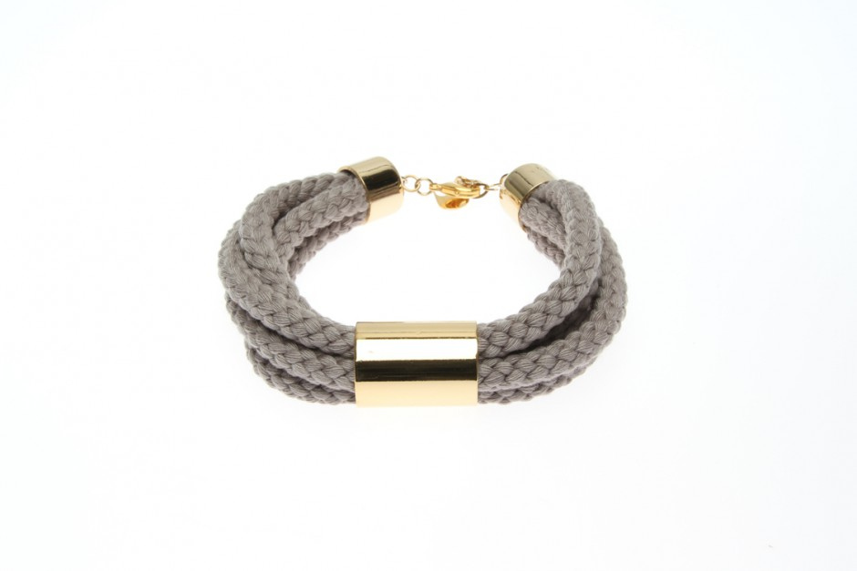 MEDIUM ROPE BRACELET WITH TUBE