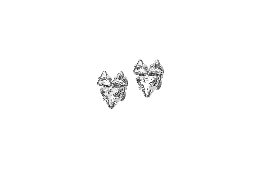 THE BABYFOX EARRINGS silver