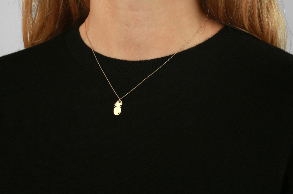 Necklace with Pineapple