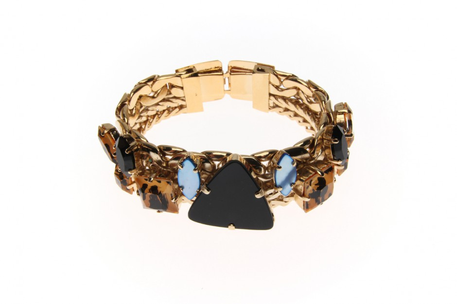 BRACELET curb heavy double wild