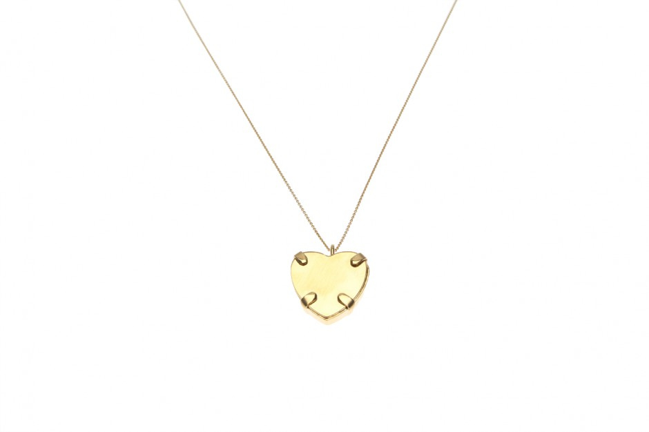NECKLACE FINE WITH PENDANT HEART L