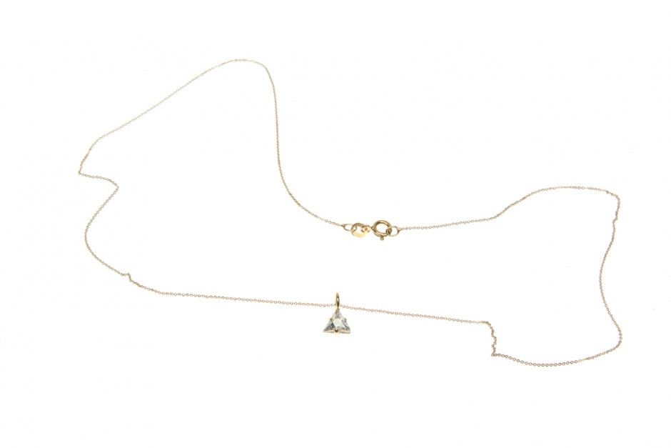 NECKLACE SUPERFINE WITH PENDANT MOUNTAIN S