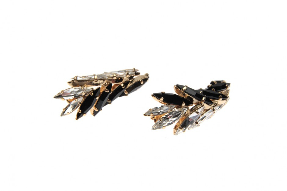 Double Palm Claw earrings