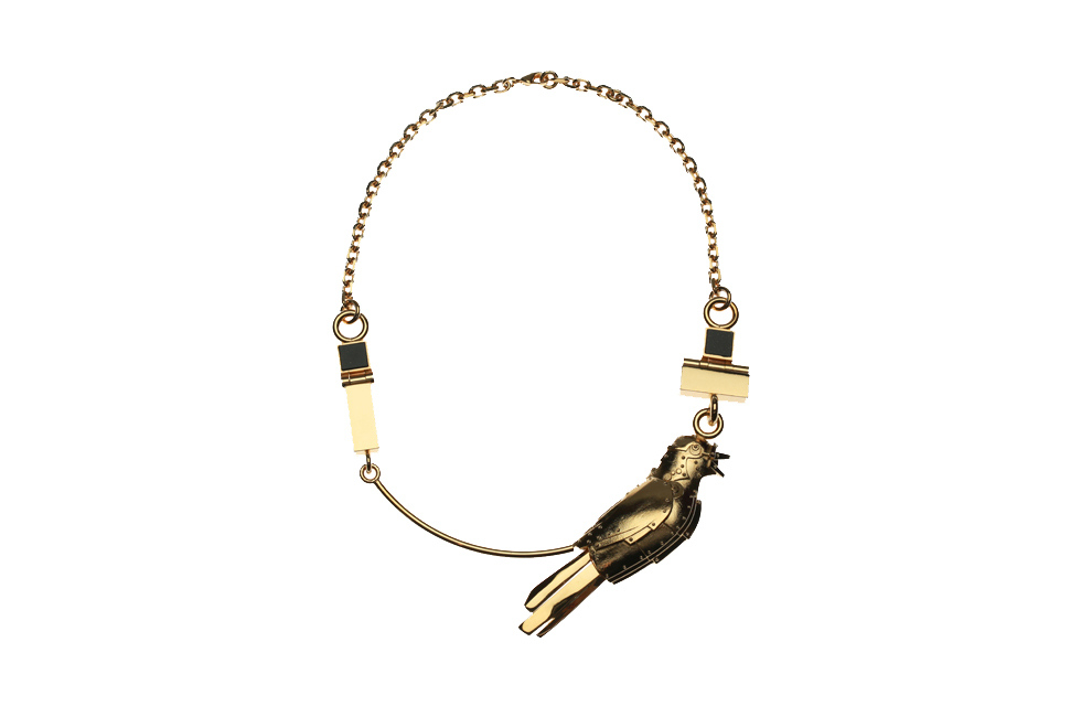 STATEMENT COLLIER WITH GALACTICAL NIGHTINGALE