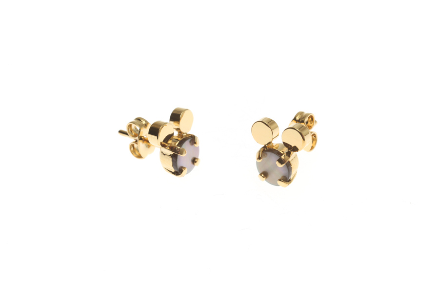 Pin earrings with mouse S
