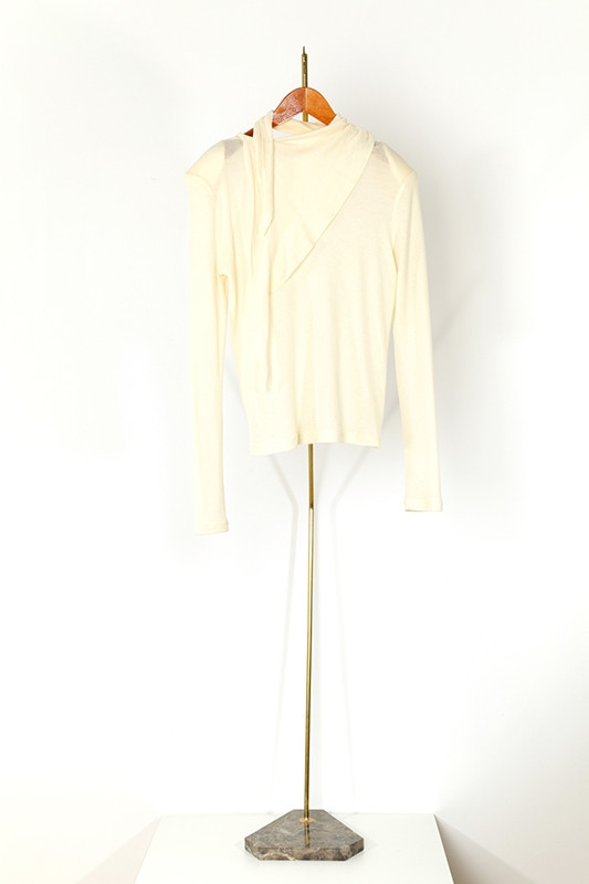 Top RADZIWILL, soft ivory-S