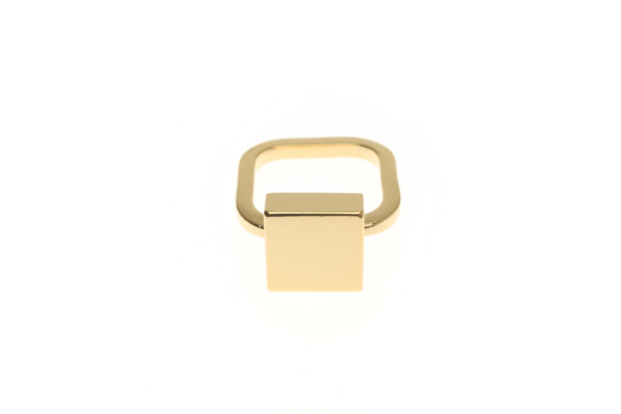 Fine ring with tile