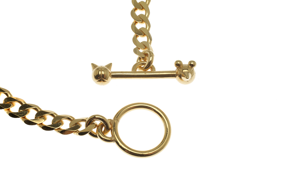 BRACELET CHAIN ANCHOR TOGGLE M CAT+MOUSE