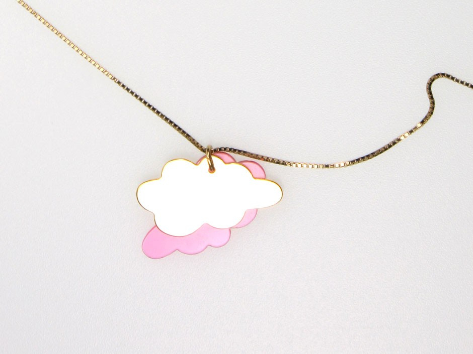 DOUBLE CLOUD NECKLACE