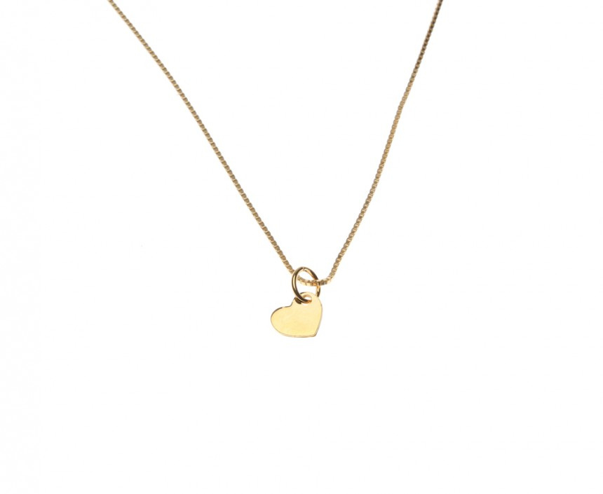 heart fine necklace