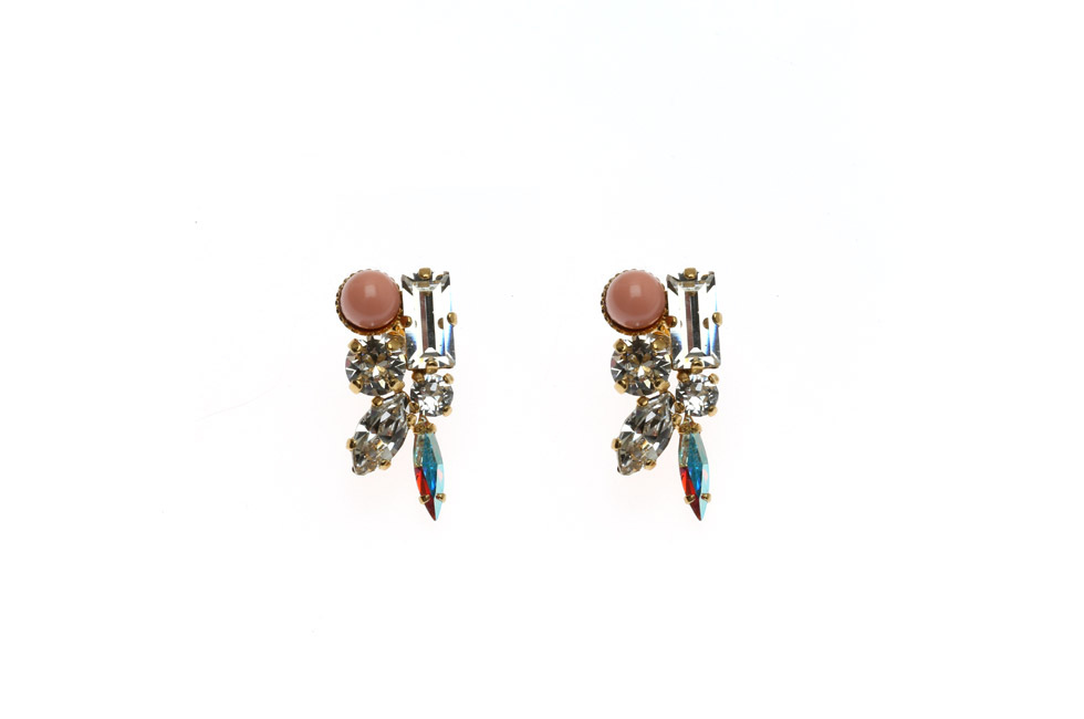 Earrings With 50s Setting