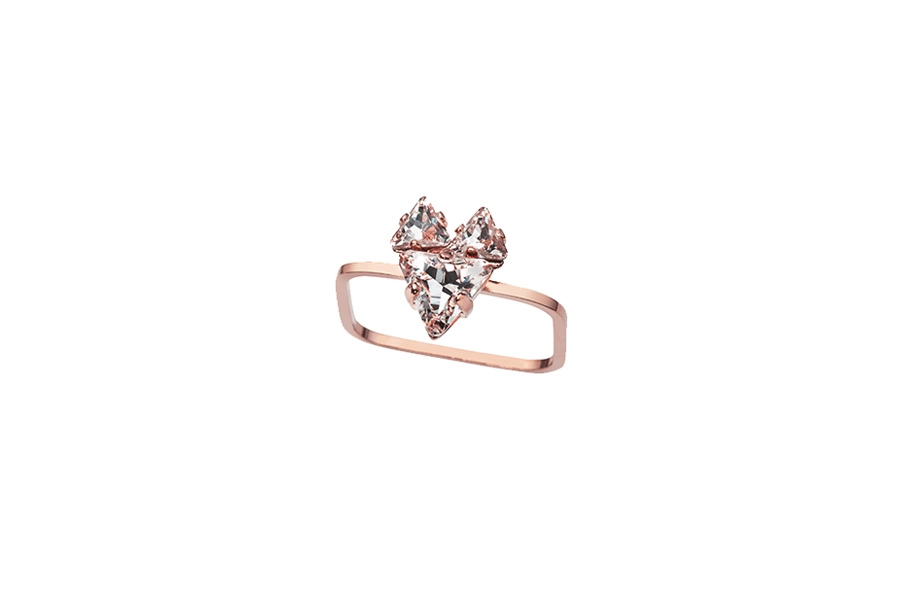 THE BABYFOX RING rose gold