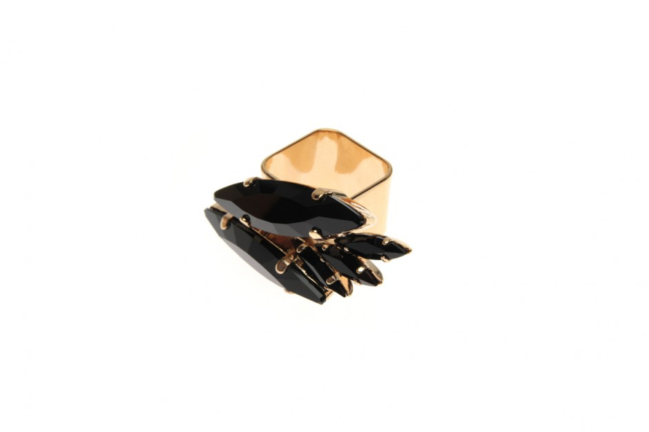 Ring Xwide Yucca Palm Frond