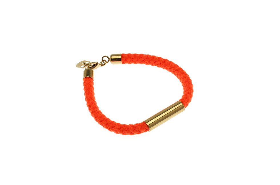 SINGLE CORD BRACELET WITH TUBE
