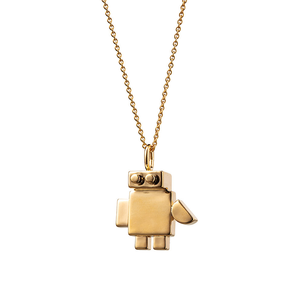 Necklace with Robo