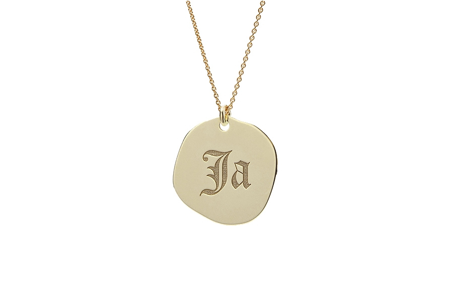 NECKLACE JA; 14CT GOLD