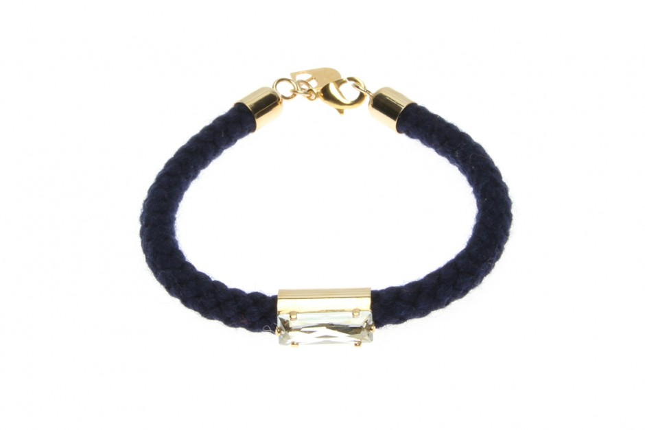 SINGLE CORD BRACELET WITH BRICK