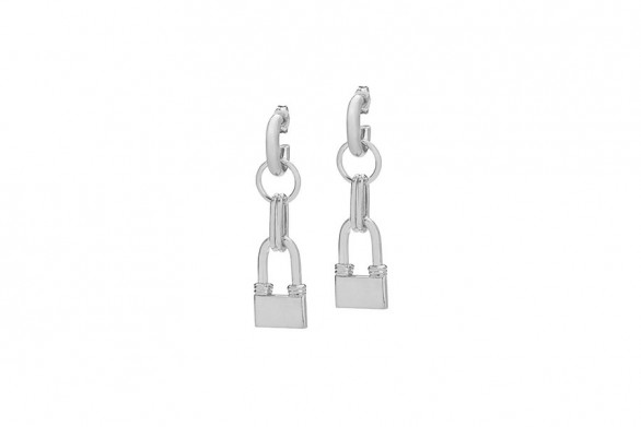 DAZEN earrings silver
