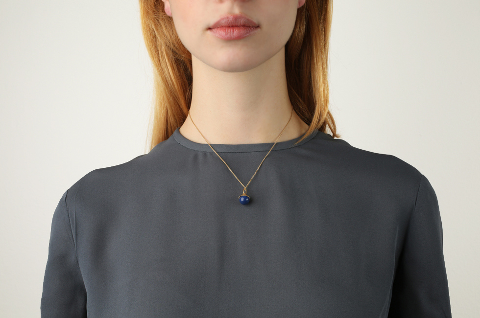 Fine Necklace With Medium Pearl