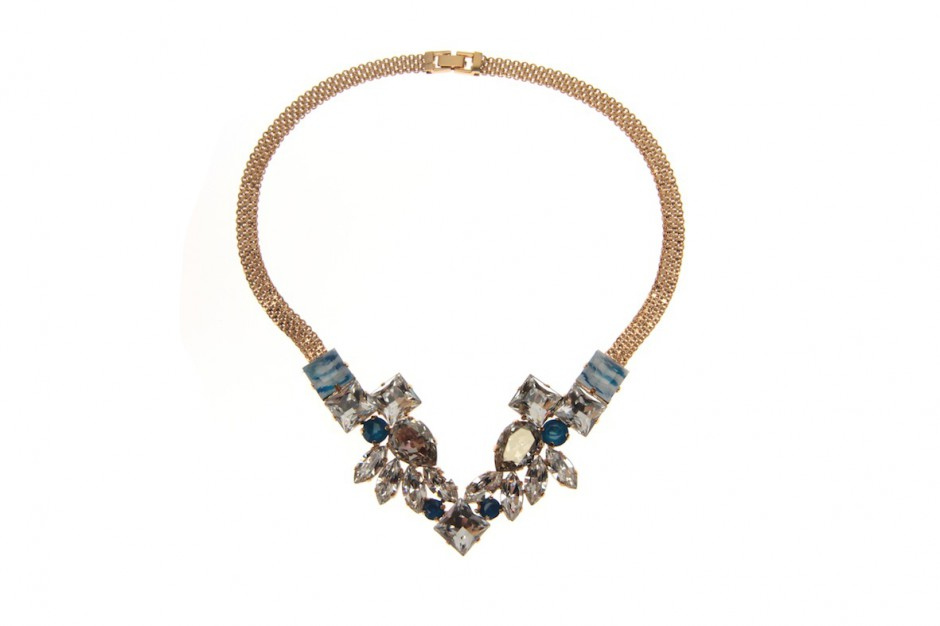 Royal Feather Crown necklace