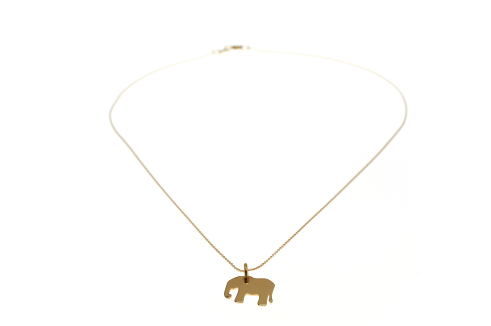 Necklace with Elephant