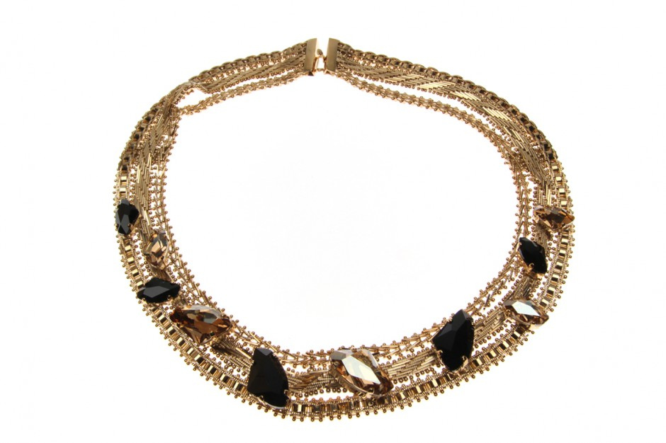 Collier Leopard Multi Indian Chains