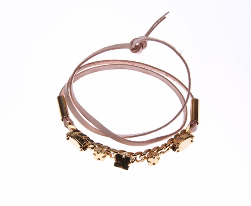 BRACELET WITH SMALL CURB CHAIN