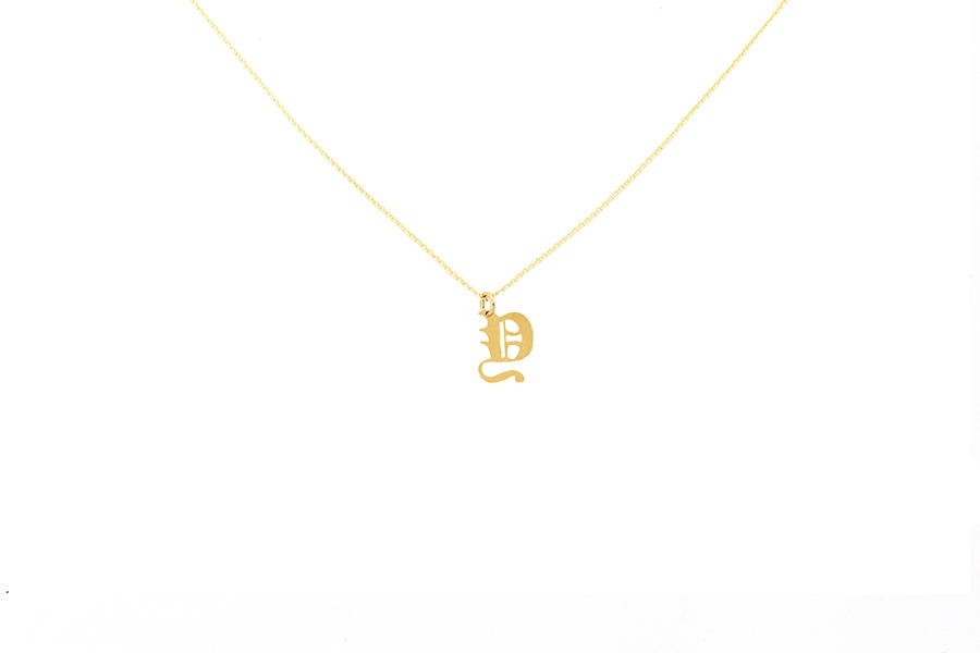 Alphabet NECKLACE Letter Y