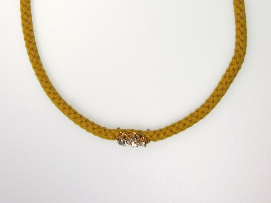 ROPE NECKLACE CRYSTALS