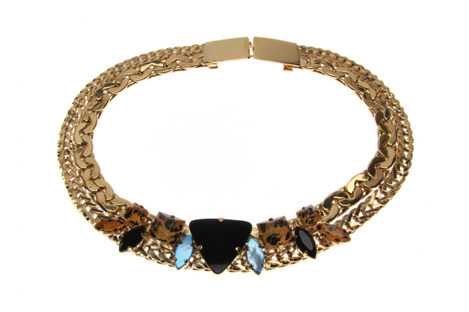 Collier Curb Heavy Double Wild