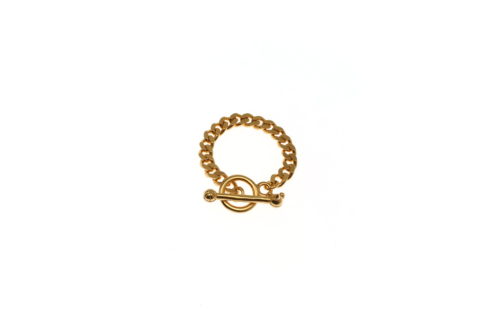 RING CHAIN HALFWIDE TOGGLE CAT+MOUSE