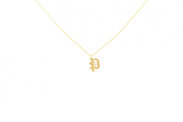 Alphabet NECKLACE Letter P