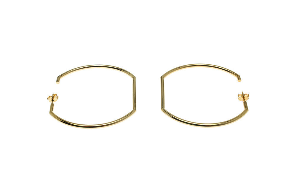 LARGE FLUXED HOOPS (PAIR)