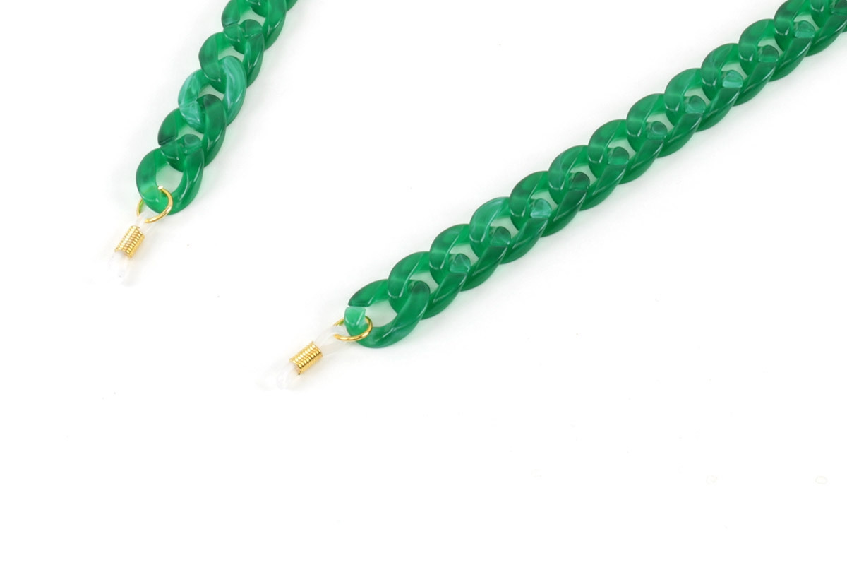 AC Brillenkette_emerald green