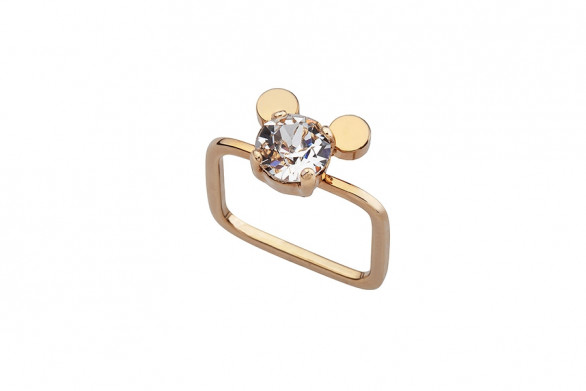 THE MOUSE ring gold