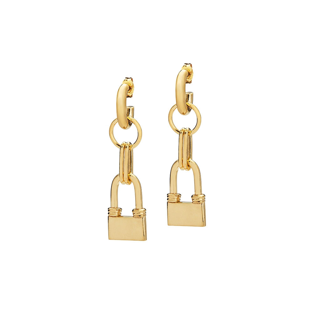 DAZEN earrings gold