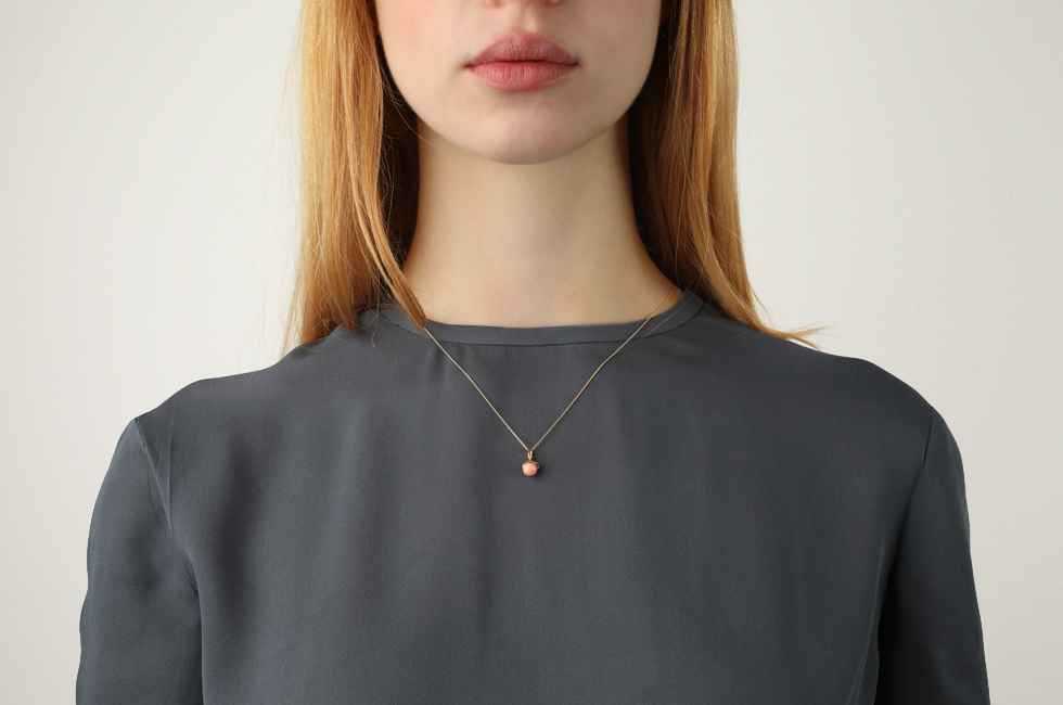 Superfine Necklace With Little Pearl