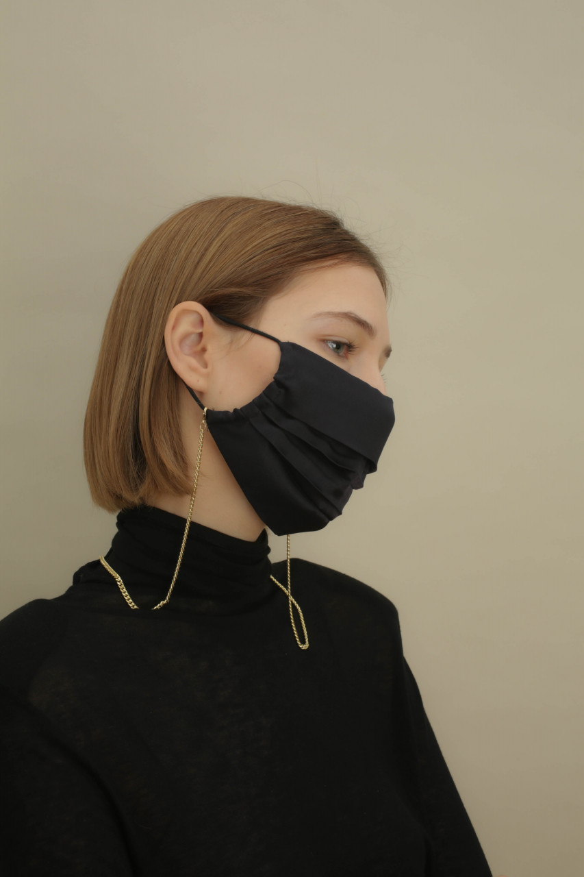 SILK MASK, black