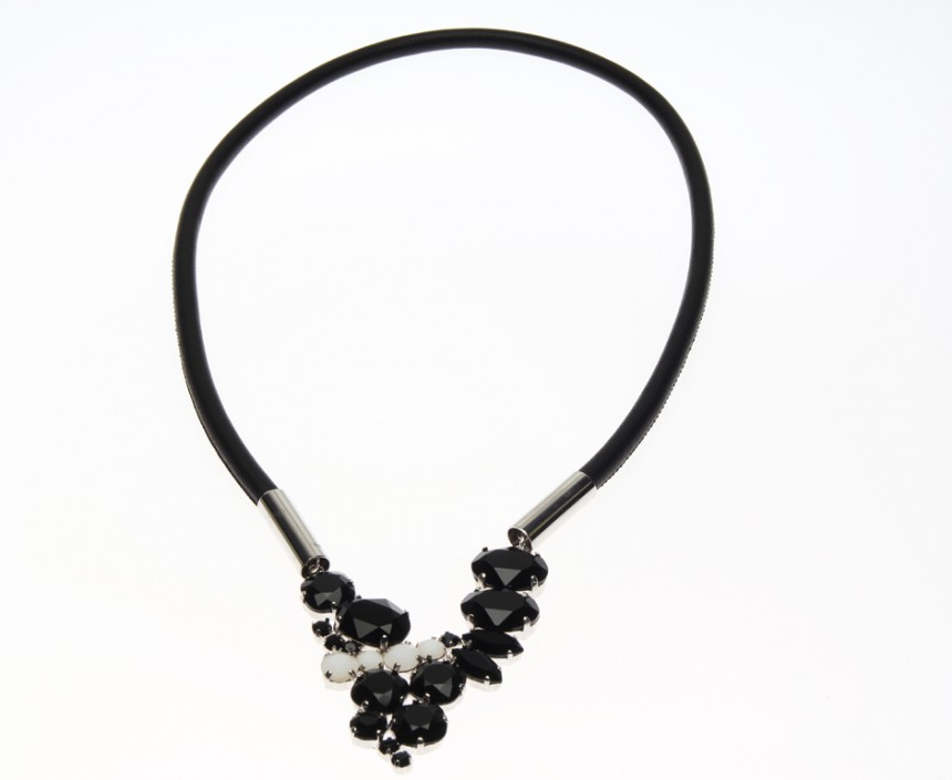 Leather collier princess