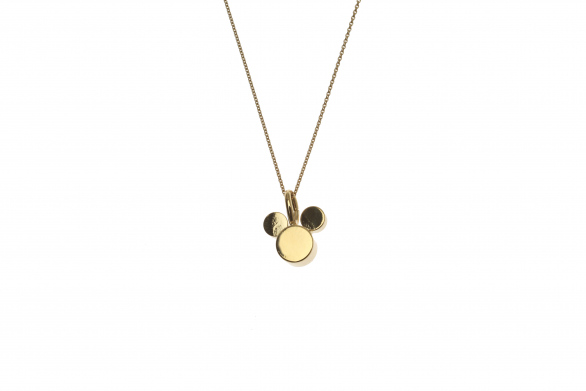 Fine necklace with mouse M