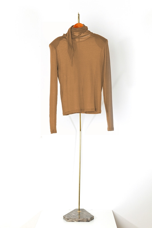 Top RADZIWILL, warm camel-S