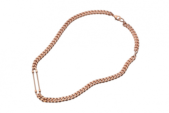 SCCP necklace rose gold